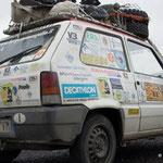Auch ein Fiat möchte in der Mongolei fahren...?!:-)