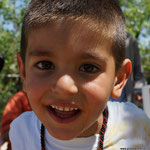 hübscher kurdischer Junge