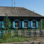 Typisch sibirisches Häuschen!
