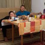 Zhanel, Roy und Lisa