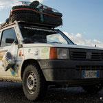 Von Italien mit Fiat an der Mongol Rally