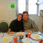 erstes In-Lokal in Tabriz
