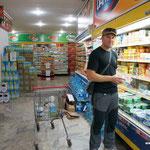 schöner Supermarket, da füllen wir doch gerne wieder unseren Kühlschrank
