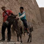 beim Furg-Castel, nahe an der Afghanischen Grenze