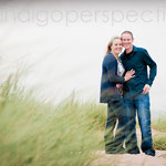 Andy & Yvonne, Instow Beach Portrait Photo Session - Indigo Perspective Photography