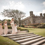 Leigh & Matt's Wedding Day at Tregenna Castle, St Ives. Indigo Perspective Photography