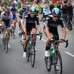 Tour of Britain 2012, Mark Cavanedish, Team Sky and the rest roll through Torrington