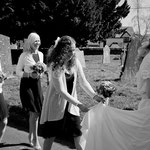 Kate & Andrew, St Edmunds Church Dolton & Weirmarsh Farm. Indigo Perspective Wedding Photography