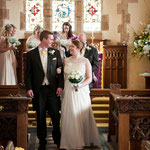 Joe & Rose Wedding Day | St Marys Church, Luccombe - Porlock Village Hall, Porlock | Somerset | Indigo Perspective Photography