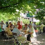 Gartenwirtschaft im Markgräflerland