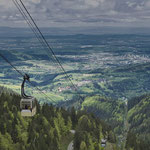 Schauinslandbahn nahe Freiburg im Breisgau