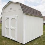 Standard 10x12x11 foot barn