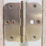 Heavy duty triple hinges on each door