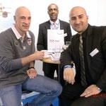 Michel Sneyers (links) DCK med Partner Belgien
