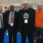 Edwin D. Dangerfield (DCK med) gemeinsam mit Carsten Rückert (Bodykeepers), zweiter von rechts