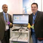Nils Tausend (rechts) DCK med Partner Deutschland