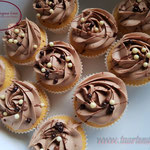 Melkchocolade cupcakes
