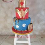 Wonderwoman taart
