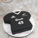 3D voetbalshirt taart
