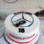 Mercedes Benz taart
