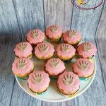 Afscheid kdv handjes cupcakes