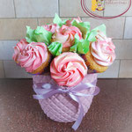 Een bosje cupcakes voor de juf!