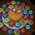 Cupcakes en taartje Tijd voor avontuur