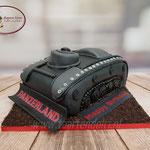 3D Tank taart