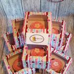 50 individueel verpakte cupcakes als traktatie