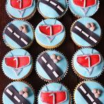 Cars cupcakes voor Tim