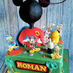 Mickey Mouse Clubhouse taart