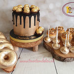 Sweettable goud en zwart
