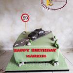 50 jaar met auto