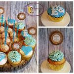 Cakepops en cupcakes voor verloving