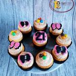 21 jaar cupcakes