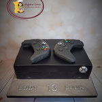 3D Xbox One X taart