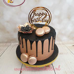 Dripcake happy birthday topper