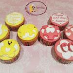 2 jaar en 100 dagen cupcakes