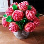 Boeketje cupcakes