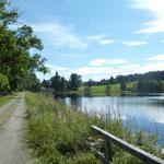 Ein beliebtes Ausflugsziel zum Baden oder Wandern. Die Rosenhofteiche