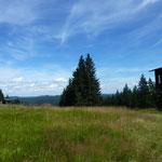 Der Viehberg Gipfel mit 1.112 m