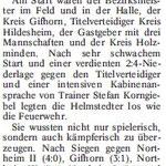 Braunschweiger Nachrichten vom 23.02.2010