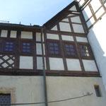 Schloss Kaulsdorf: Holzfenster