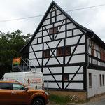 Rudolstadt, Am Gatter: komplette Fachwerksanierung und statische Sicherungsarbeiten des Dachtragwerkes