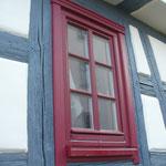 Oberkrossen: Holzfenster