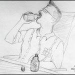 Bleistiftzeichnung Menschen