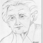 Erster Versuch: Ältere Dame