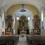 Kirchenbilder Goldach - Pfarrkirche St. Mauritius