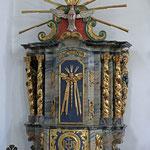 Kirchenbilder Mörel - St. Hilarius Kirche