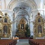 Kirchenbilder Disentis - Klosterkirche